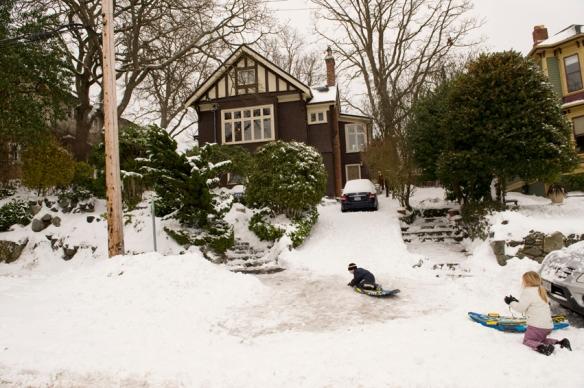 2008 - Record snowfall